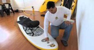 C4-Waterman-iSUP-Inflatable-Paddle-Board-How-To-Video
