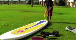 Inflating-a-Red-Air-Inflatable-Stand-Up-Paddle-Board