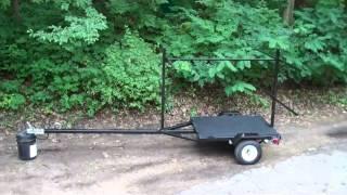Diy Canoe Or Kayak Trailer