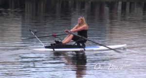 Fit-on-Top-SUP-Rower-Oar-Board