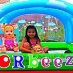 ORBEEZ-Bath-with-BABY-ALIVE-Doll-Paddling-Pool-Super-Fun-Bath-Time-Kids-Balloons-and-Toys