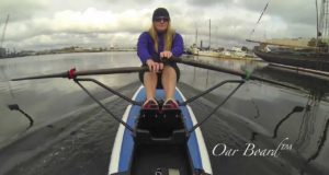 Oar-Board-Stand-Up-Paddleboard-Rower-Demonstration