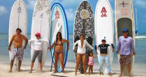 Stand-up-paddle-board-Cancun-lessons-Cancun-SUP