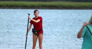 Students-Take-First-Stand-up-Paddle-Board-SUP-College-Course-College-of-Charleston